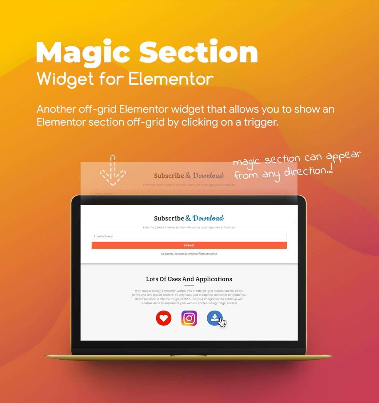 Premium Off-Grid Widgets for Elementor WordPress Plugin