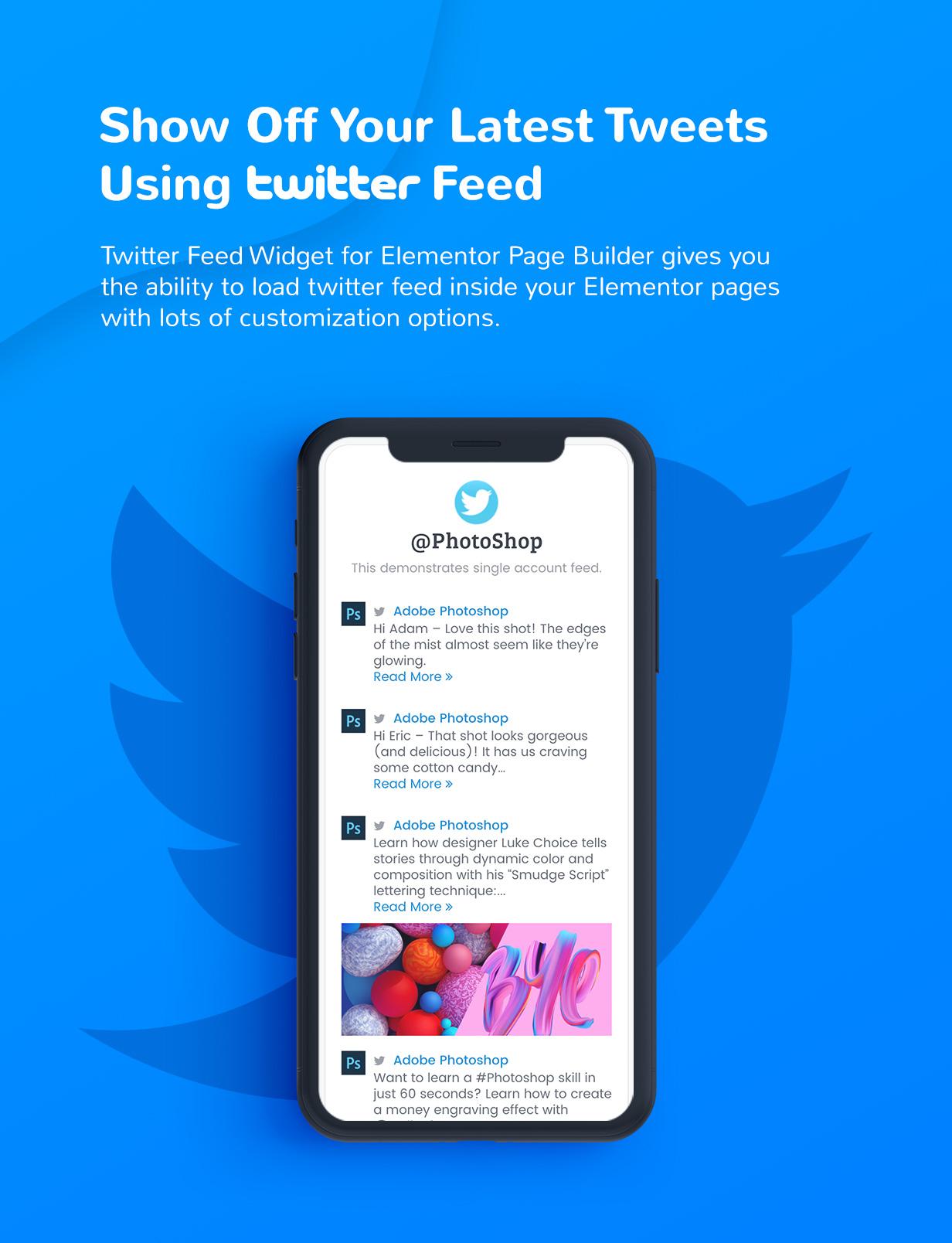 Premium Social Media Widgets for Elementor - 2