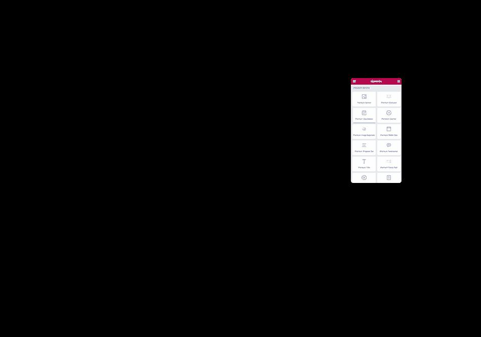 Premium Addons Widgets